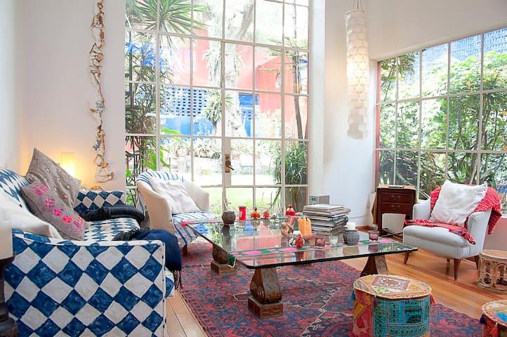 Juan O'Gorman House - Studio,  - Mexico City - House