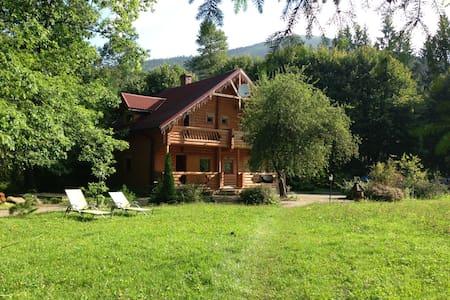 Вилла Ясна -деревянное шале в горах - Татаров