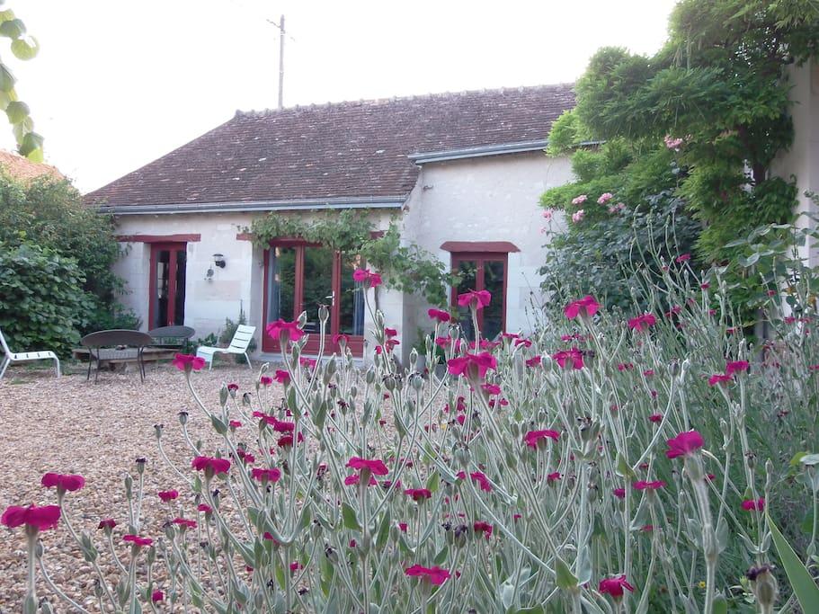 gite adorable pr s de chenonceau cottages louer saint georges sur cher centre france. Black Bedroom Furniture Sets. Home Design Ideas