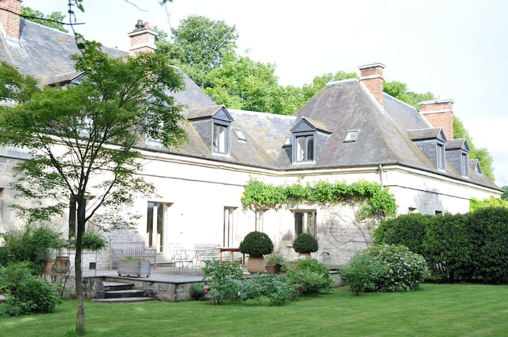 Manoir Les Ecuries - Ognon - House