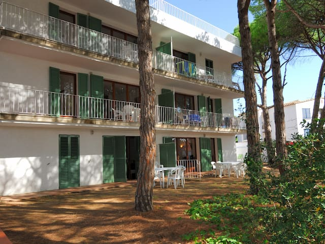 Simple apartment ground floor close to area to Platgeta in Calella