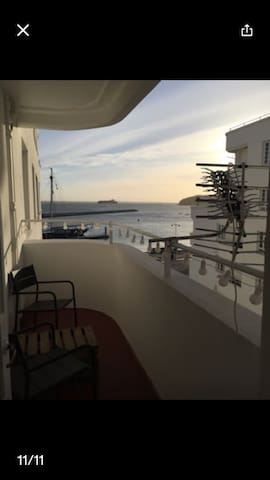 Room in charming flat by the sea front - Cowes - Apartament