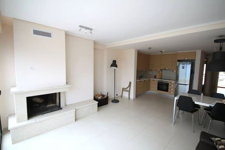 Amazing seafront apartment up to 7 people - Evia - Leilighet