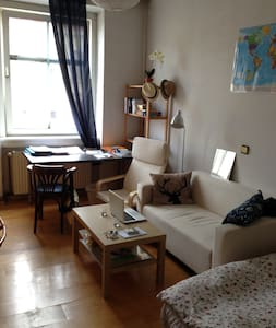 Nice central room in cozy flat - 維也納
