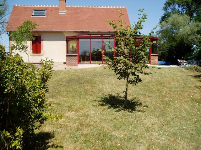Gde maison de famille en Bourgogne - Lamenay-sur-Loire - Hus