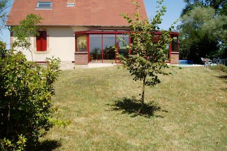 Gde maison de famille en Bourgogne - Lamenay-sur-Loire