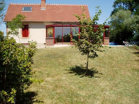 Gde maison de famille en Bourgogne