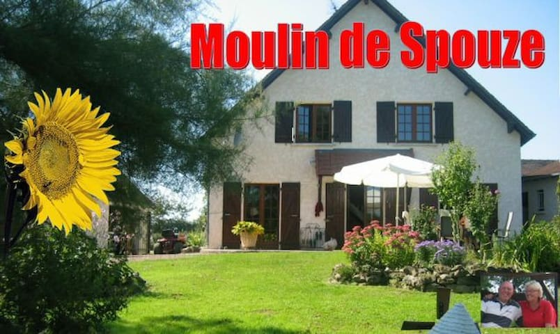 Moulin de Spouze - Ougny - House