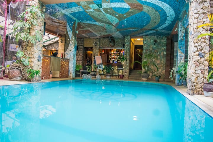 Cozy one bedroom apartment ,Yaya Center, Kilimani