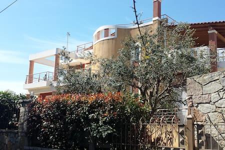 Demy Luxury Villa (400 m²), 4 min walk from beach. - Rio, Agios Vasilios - 别墅