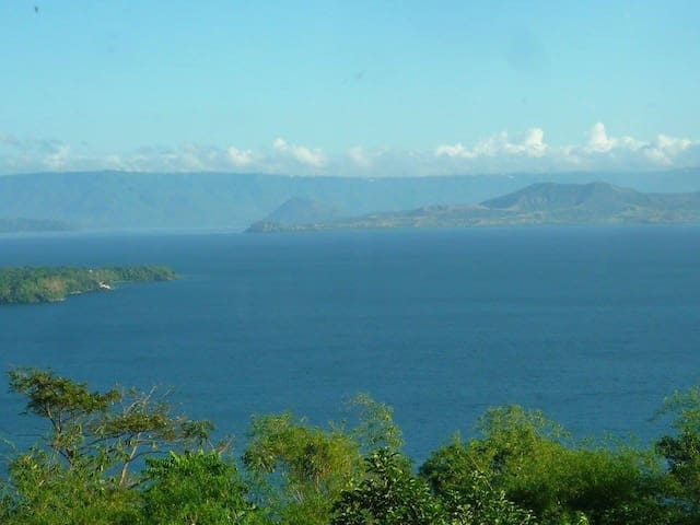 View of Taal Lake and volcano