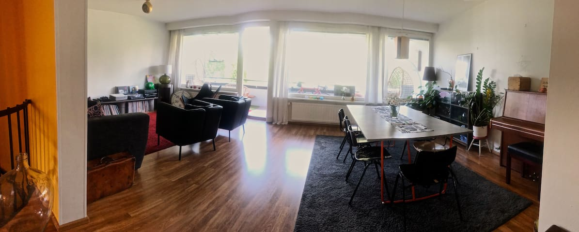Livingroom and dining area!
