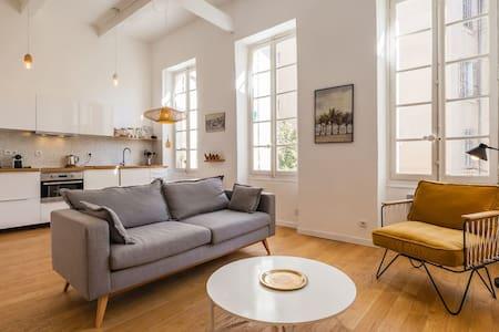 Appartement lumineux et design plein centre - Marseille