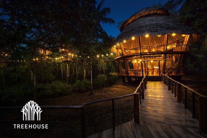 All Inclusive Treehouse Lodge in The Amazon