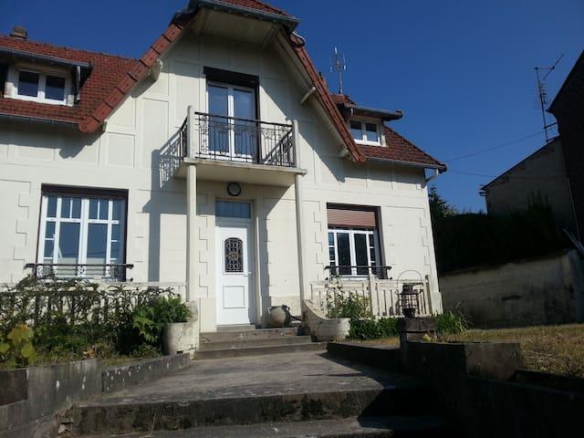 Maison Mers les bains Eu 140m2 moderne dans ancien