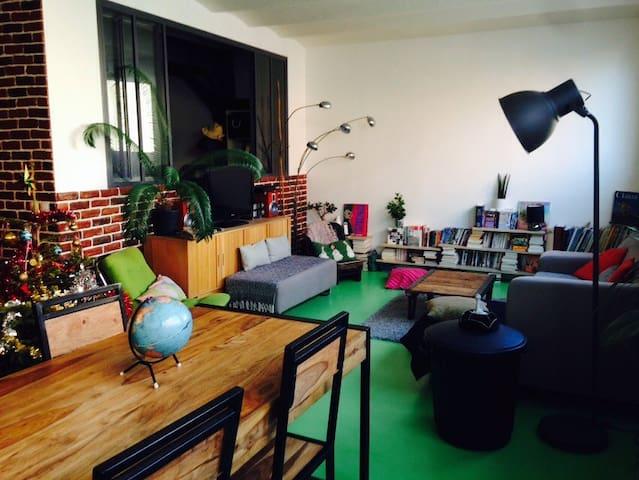 Loft 120 m2 - Paris - Flat