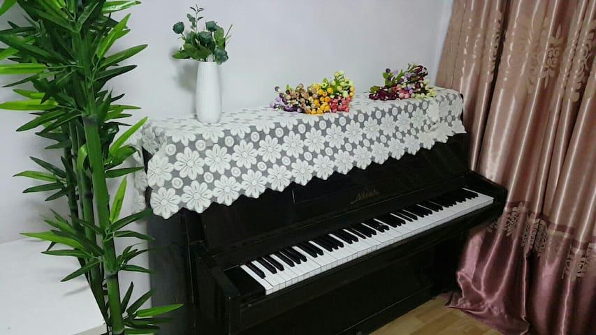 超干净钢琴美居,近地铁11号和13号线,距中环8公里,小区有免费篮球场 - 上海 - Apartamento