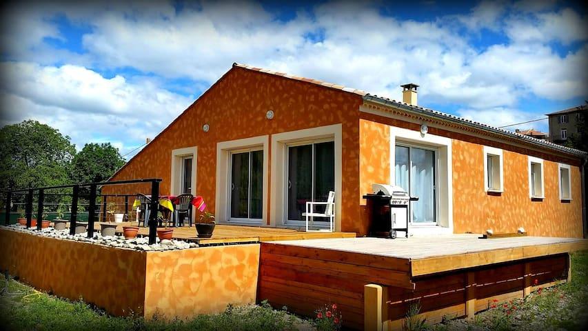 LARAGNE home 117m2 - terrace 80m2 - Laragne-Montéglin - Casa