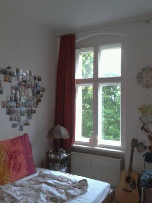 Left window