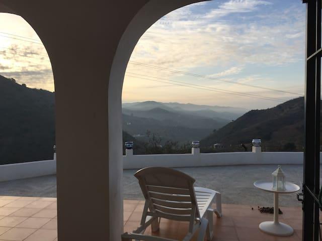 Wonderful views of Malaga Mountains