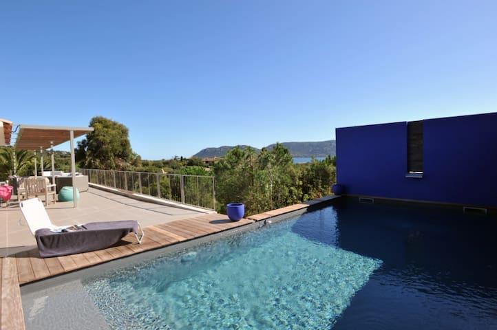 Magnifique villa vue mer et piscine - Porto-Vecchio - Rumah