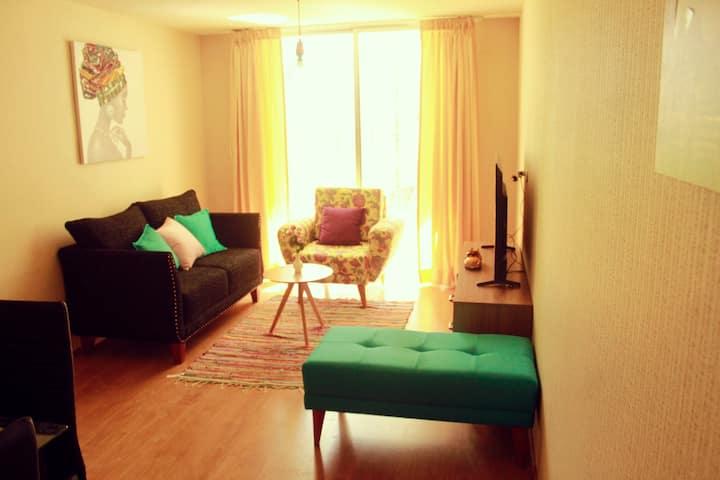 Apartamento moderno  en primer piso de 90m2