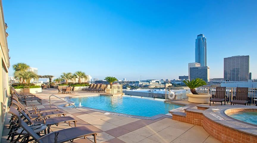 Luxury Galleria Apartment #1205 - Houston - Byt