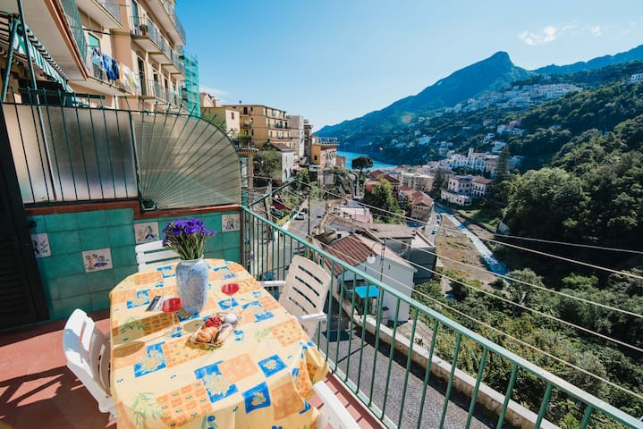 Romantic flat with Terrace in the Amalfi Coast