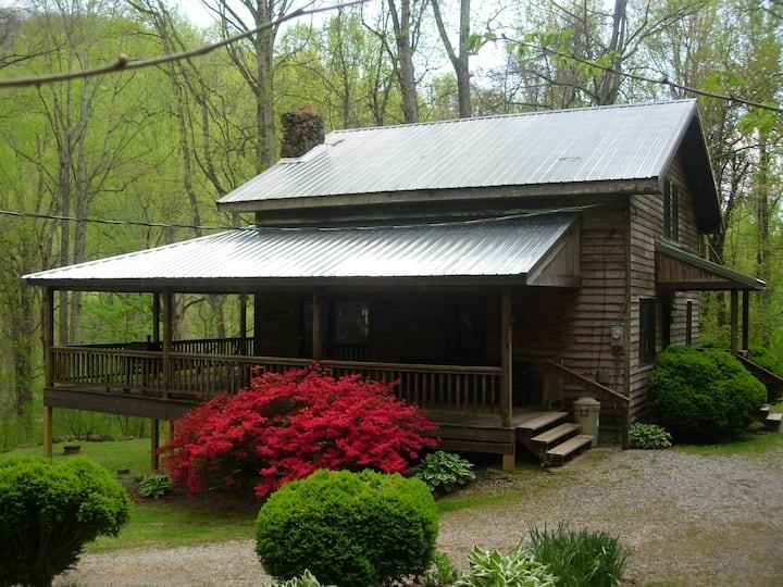 Higher Ground-a Mountainside Cabin