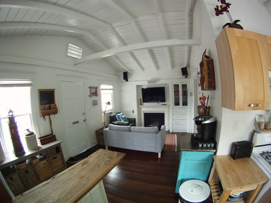 Main Room - Beach Bungalow Surf Theme