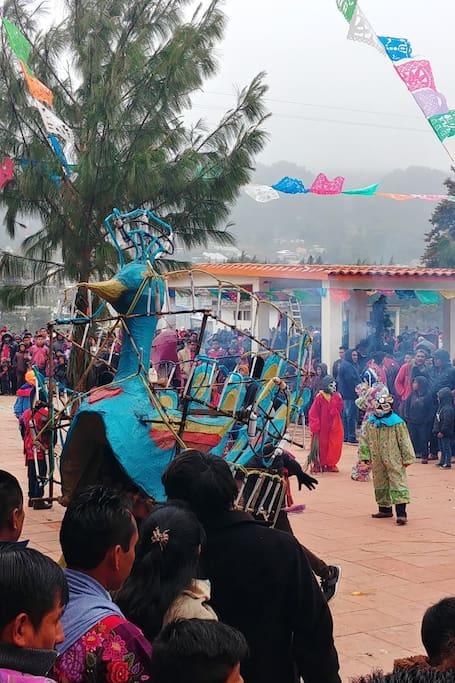 carnaval de Zinacantan