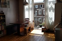 Light and quite apartment
