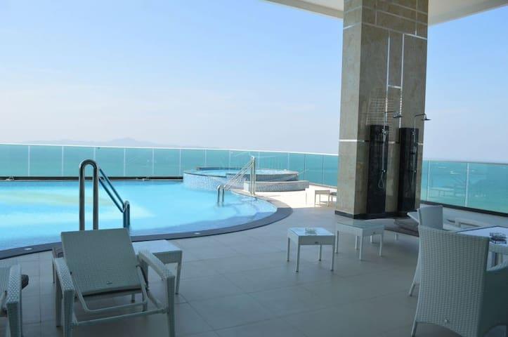 1 bedroom 3min to Walking Street & Beach - Pattaya - Apartmen