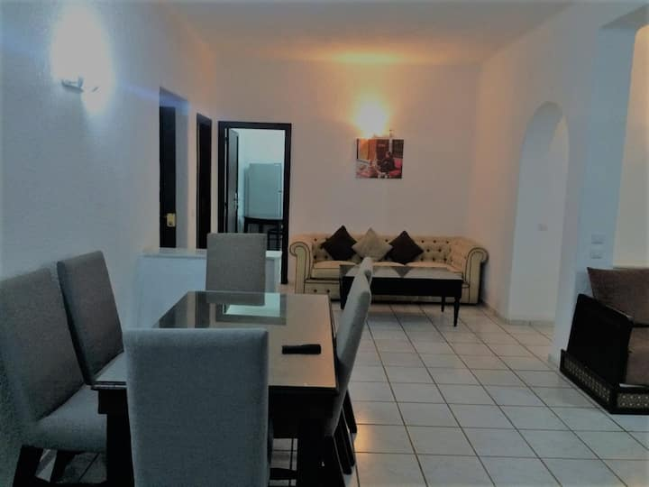 BAHIA SMIR ll 3 BED ROOMS APARTMENT ll SEA SIDE
