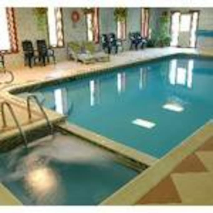 Indoor Pool and Hottub
