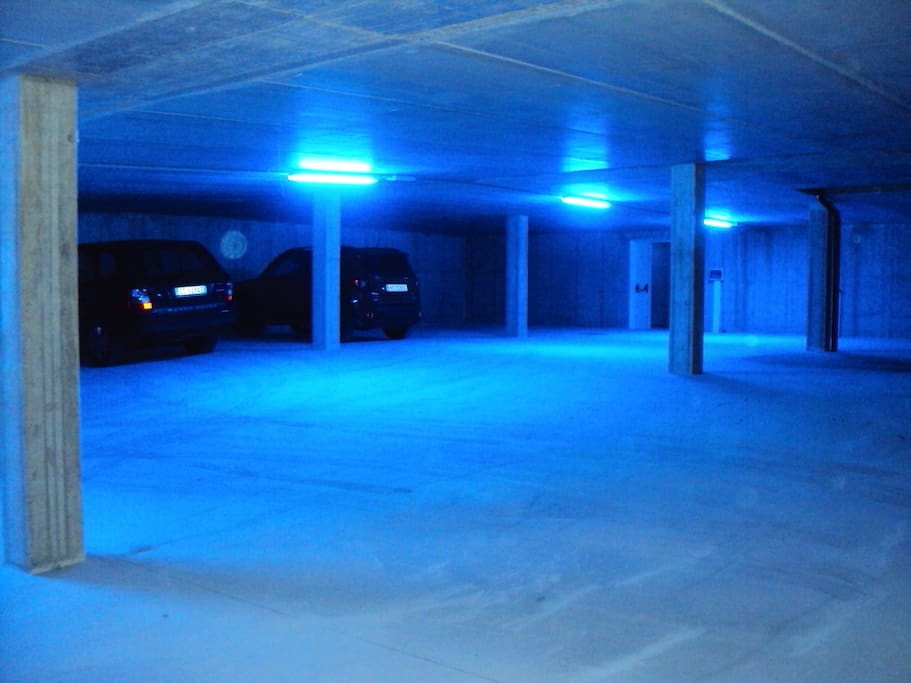 Garage sotterraneo gratuito privato