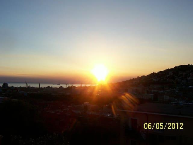 appartamento vista mare mozzafiato - Trieste - Leilighet