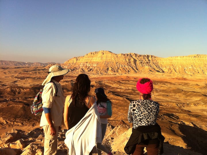 Mitzpe Ramon | Family Retreat