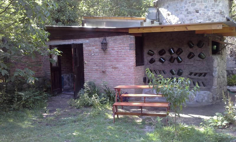 La casita del jardín