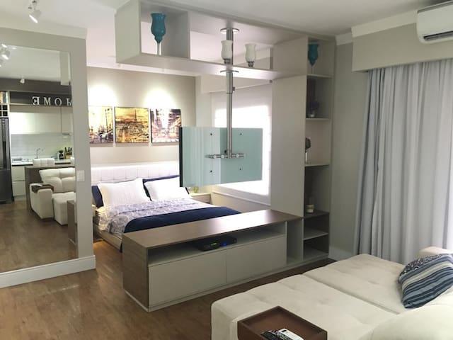 Apartamento lindo, prático e com ótima localização