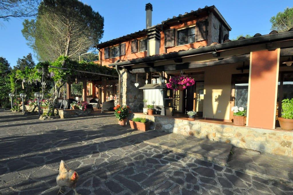 Agriturismo Pereti - a renovated 19th century farm house