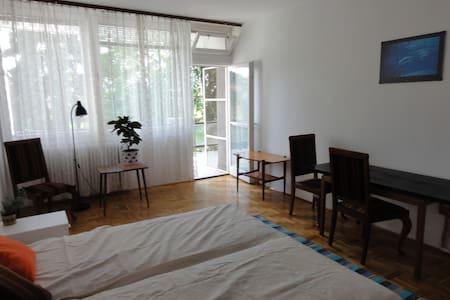 Csendes lakás terasszal a hegyen - Budapest