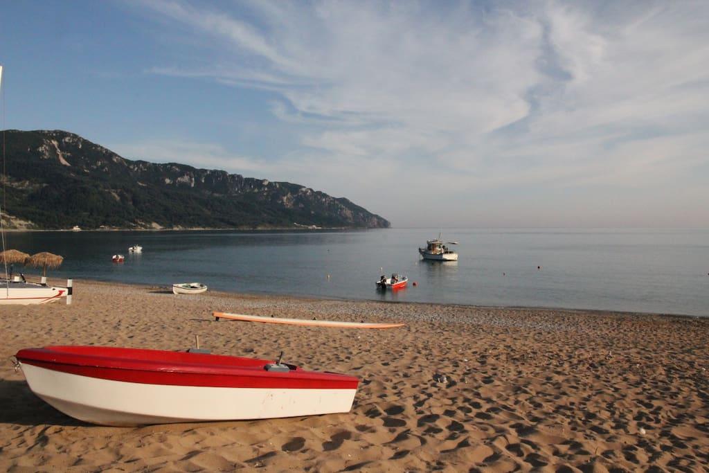 Our beach Ag. Georgios Pagon