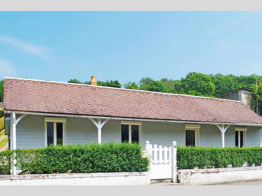 Maison individuelle de 80m² à 800m de la mer.