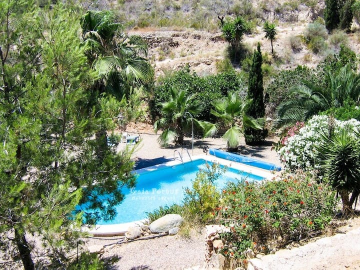 Private Naturist Cabin El Portús Beach Houses For Rent In Cartagena Región De Murcia Spain