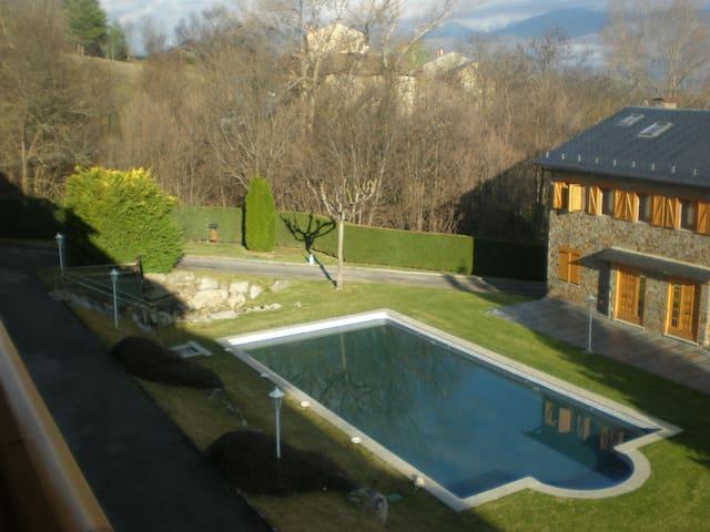 Apartamento duplex piscina Cerdanya - Queixans - Apartament