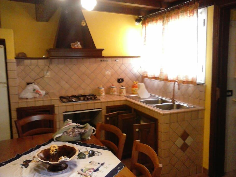 Blocco cottura e lavello
