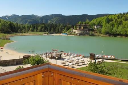 Appartamento vista Lago a  Lavarone - Lavarone - 公寓