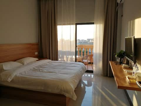 Large floor to ceiling windows