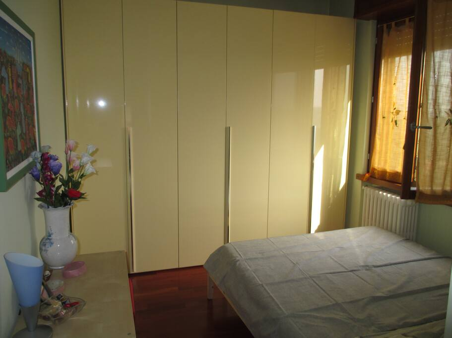 the room with the wardrobe